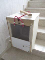 Schwarmfang-, Ableger und Rähmchentransportkiste in einem für die Einraumbeute